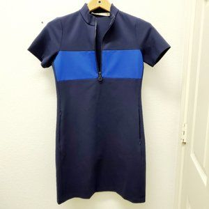 Tory Burch Tech Ponte Zip Front Dress